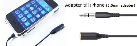 Adapter till iPhone 3.5mm