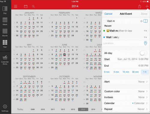 Recension: Kalender appar